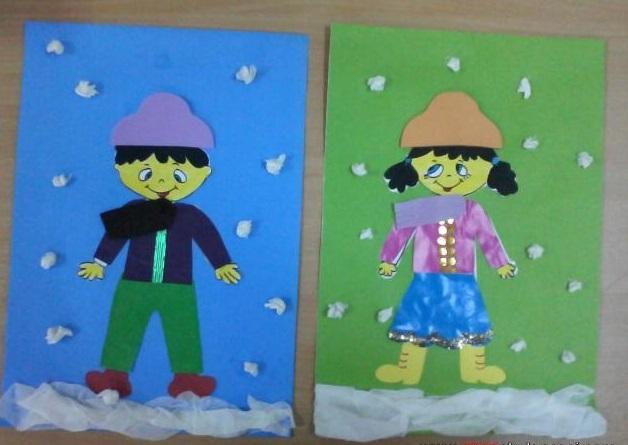 preschoolwintercraftswinterclothesbulletinboard