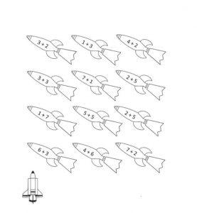 rocket-addition-worksheet-1
