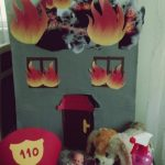 Firefighter and fire safety crafts for kids