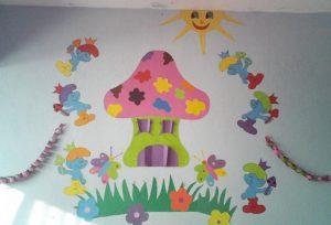 smurfs-wall-decoration