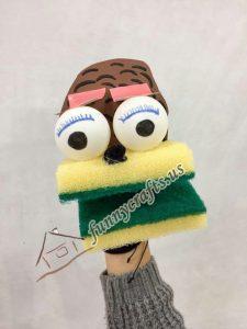 sponge-hand-puppet-design