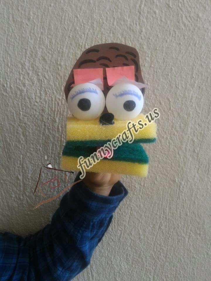 sponge-puppet-craft