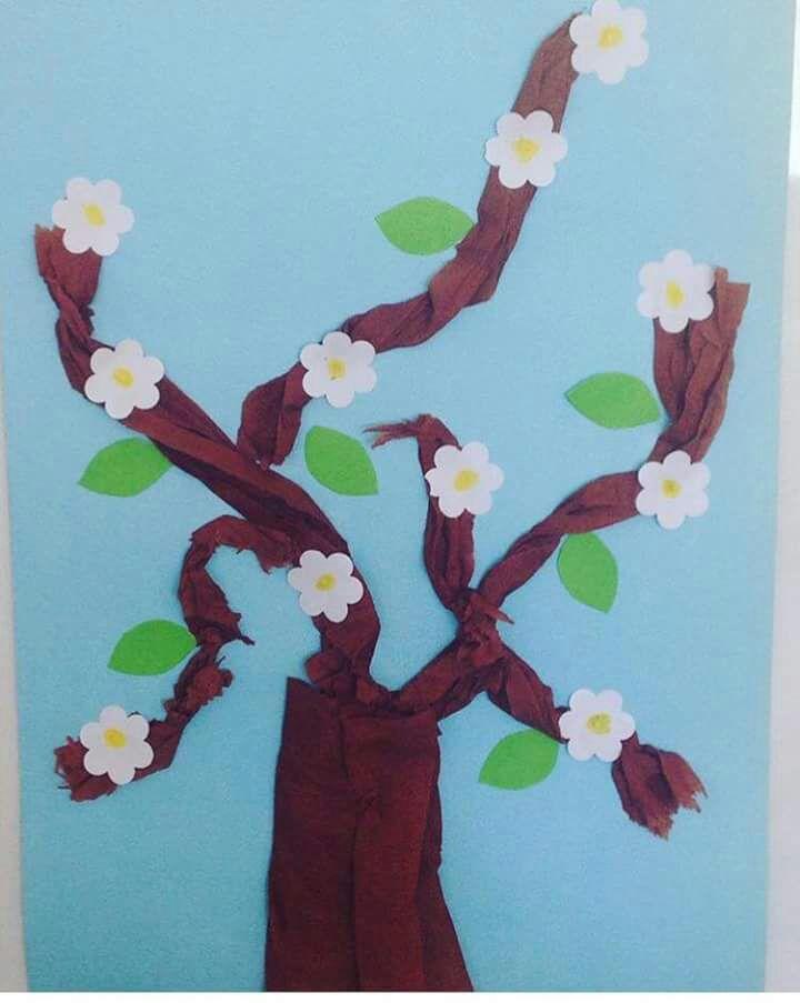 Preschool Tree Craft Ideas Spring