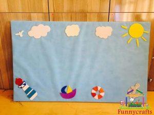 summer-and-sea-preschool-billboard-idea