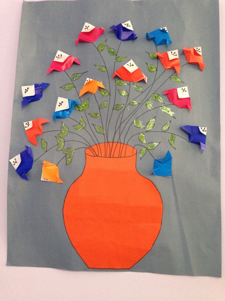 Teachers Day Flower Craft Ideas 4 Funnycrafts for The Stylish  art and craft ideas for teachers regarding Invigorate
