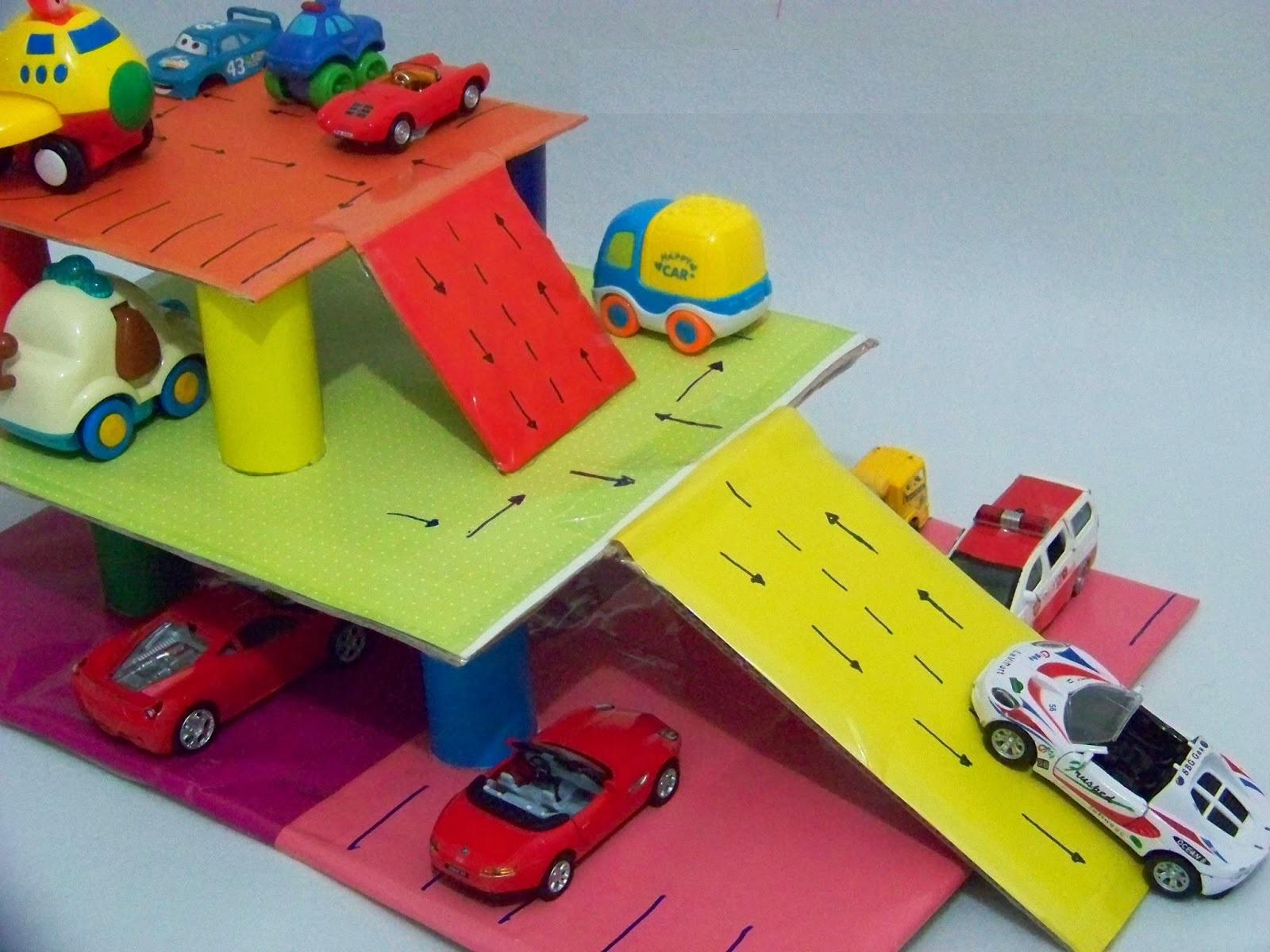 toilet-paper-roll-car-park-craft « Preschool and Homeschool