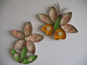 toilet-paper-roll-flower-and-butterfly-craft