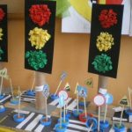 Traffic light crafts for preschoolers