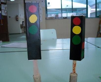 trafficlightcraftsforpreschoolers2 Preschool and
