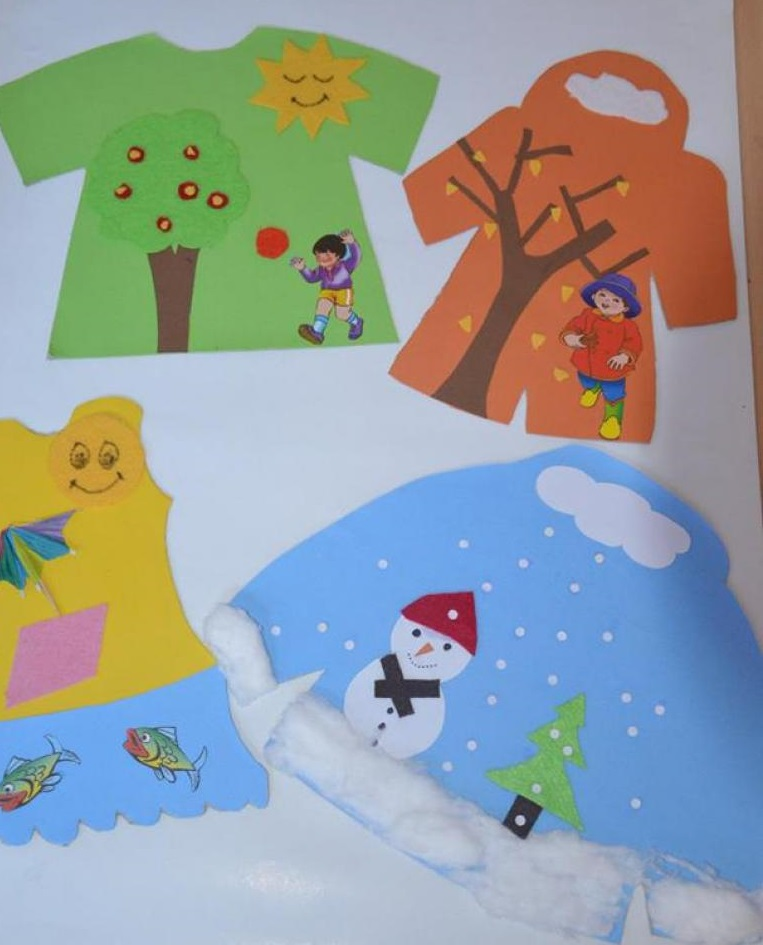 Winter Clothes Craft Preschool Winter Clothing Crafts 1 on Recycle Worksheets