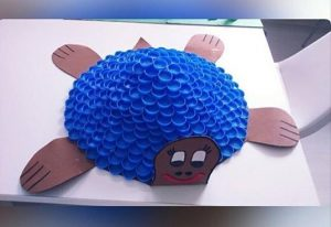 bottle-cap-turtle-craft