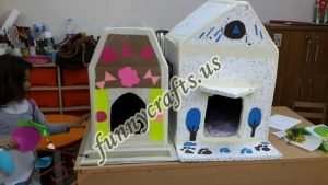 cardboard-cat-house-craft-ideas-11