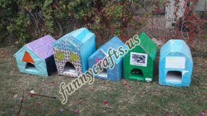 cardboard-cat-house-craft-ideas-16