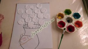 cotton-pads-flower-art-idea-step-1-2