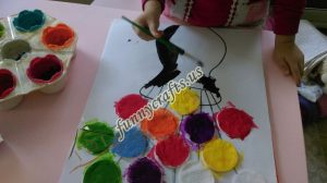 cotton-pads-flower-art-idea-step-9