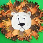 Lion craft idea for preschoolers