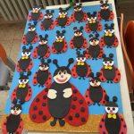 Ladybug craft idea for preschoolers
