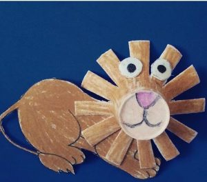 paper-cup-lion-craft
