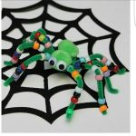 Spider craft and art idea for kids