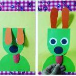 Dog craft idea for preschoolers