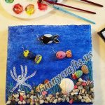Painted rock art projects