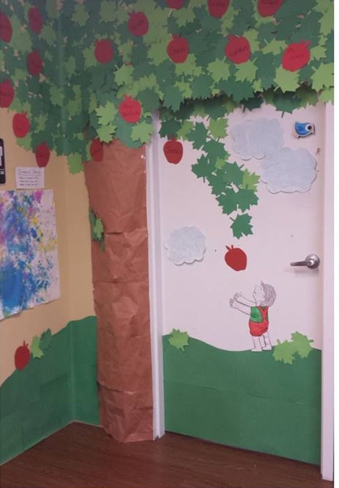 giving tree preschool the giving tree door decorations 4 171 preschool and homeschool 946
