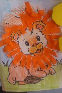 tissue-paper-lion-craft