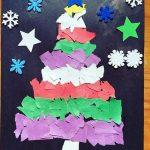 Torn paper craft idea for kids