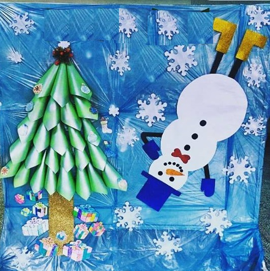 Winter wall decorations for school 3 preschool and for Art and craft for school decoration