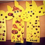 Giraffe craft and art ideas