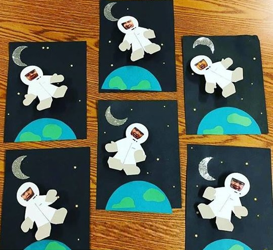 craft ideas for space theme space themed astronaut craft 171 preschool and homeschool 6236