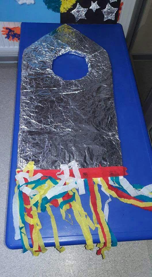 Space crafts for preschoolers