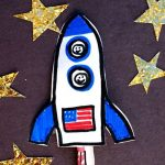 Space themed crafts and activities