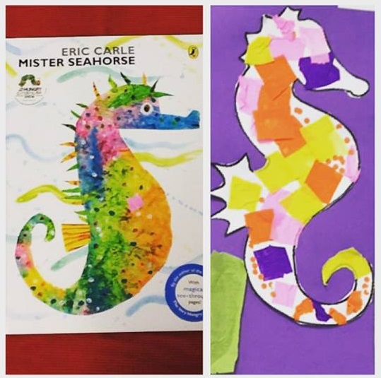 Photo of Mister seahorse book crafts