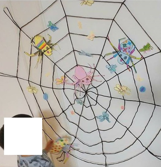 very busy spider activities for
