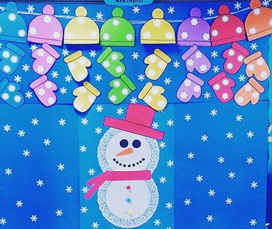winter bulletin board ideas 7