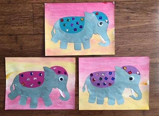 Tailand Elephant Craft 171 Preschool And Homeschool