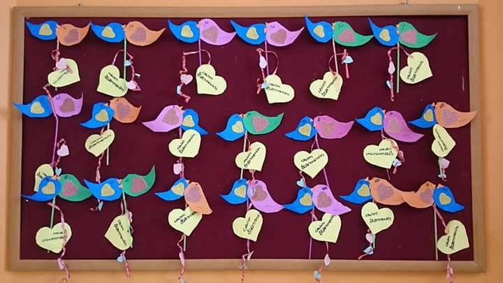 Valentineu0027s Day Crafts Preschool » Valentineu0027s Day Bulletin Board