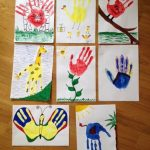 Handprint artwork ideas