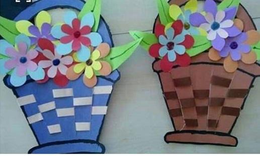 basket weaving craft  u00ab preschool and homeschool