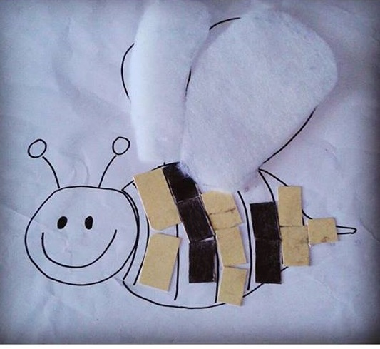 Photo of Bee craft idea for kids