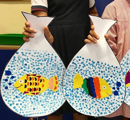 creative fish craft for preschool