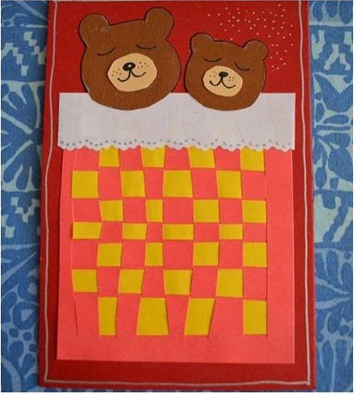 Photo of Weaving craft for preschoolers