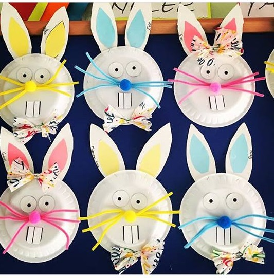 Easter Bunny Crafts For Preschoolers Funny Crafts