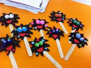 Germ crafts for preschool | Funny crafts