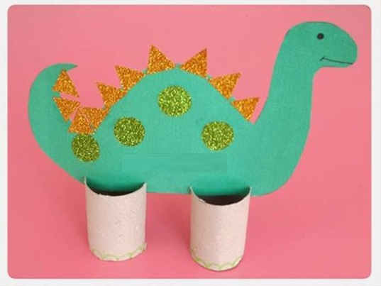 Photo of Stegosaurus craft preschool