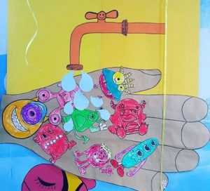 Germ crafts for preschool Funny