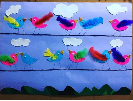 Bird Themed Crafts For Preschoolers Funny Crafts