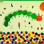 Hungry caterpillar craft and art ideas