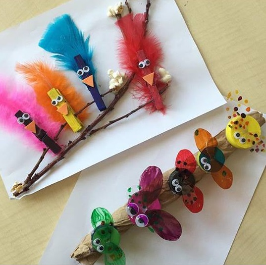 Clothespin Bird Craft on Free Christmas Dot To Coloring Pages